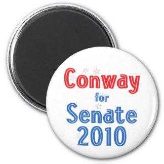 Jack Conway for Senate 2010 Star Design 2 Inch Round Magnet