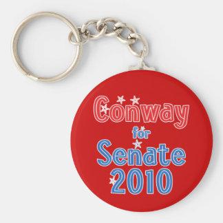Jack Conway for Senate 2010 Star Design Keychain