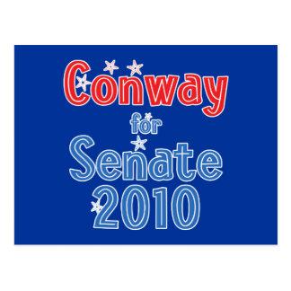 Jack Conway for Senate 2010 Star Design Postcard
