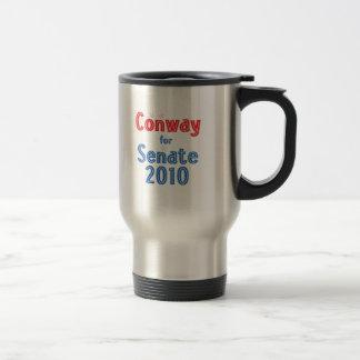 Jack Conway for Senate 2010 Star Design Travel Mug