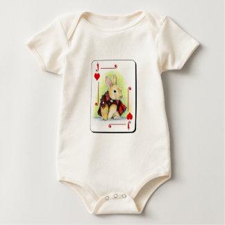 Jack de corazones body para bebé