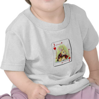 Jack de corazones camisetas