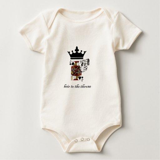 Jack de espadas traje de bebé