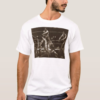 Jack Dempsey and Luis Firpo by George Bellows T-Shirt