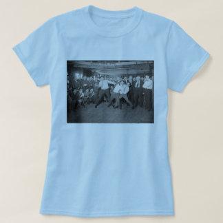 Jack Dempsey Mock Fighting Against Harry Houdini T-Shirt