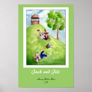 Jack e impresión de Jill Póster