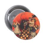 Jack-En-UNO-Box de Krampus Pin Redondo 5 Cm