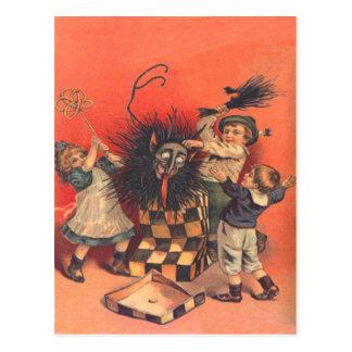 Jack-En-UNO-Box de Krampus Postales