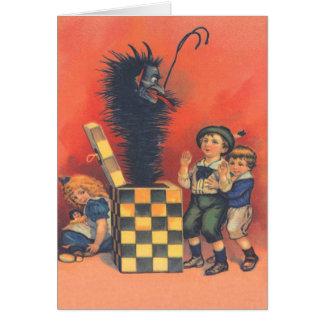 Jack-En-UNO-Box de Krampus Tarjetas