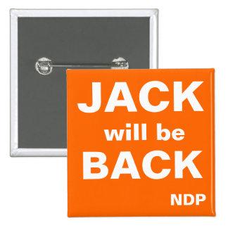 Jack estará detrás pin