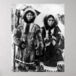 Jack feliz y esposa: 1904 posters