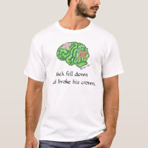 """Jack fell down"" t-shirt"