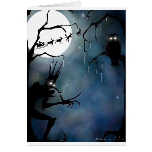Jack Frost Greeting Cards