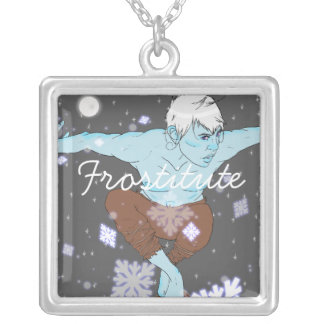 Jack Frost- Frostitute Necklace