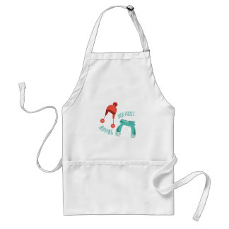 Jack Frost Nipping Aprons