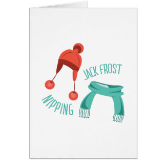 Jack Frost Nipping Greeting Card