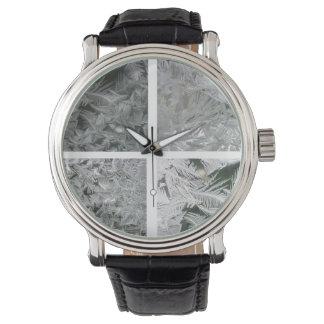 Jack Frost patterns Wristwatch