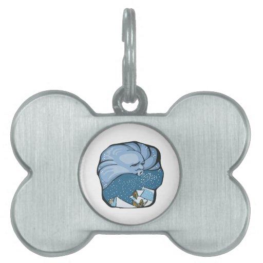 Jack Frost Placa Mascota