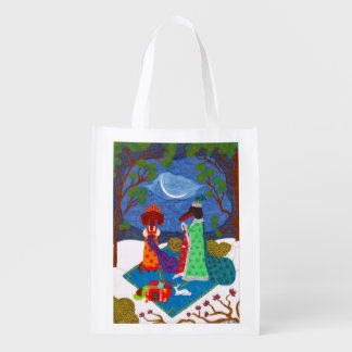 Jack Frost Reusable Grocery Bag
