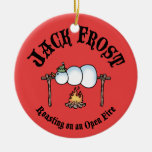 Jack Frost Roasting Christmas Tree Ornament