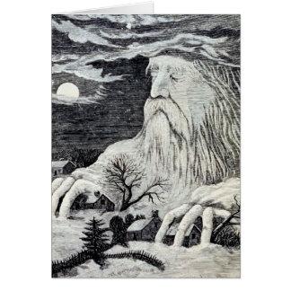 """""""Jack Frost"""" Vintage Illustration Card"""