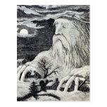 """""""Jack Frost"""" Vintage Illustration Postcard"""