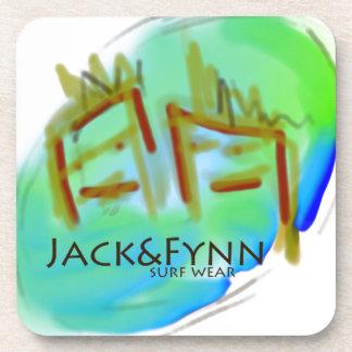 Jack&Fynn surfwear and fresh designs Coaster