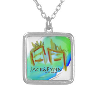 Jack&Fynn surfwear and fresh designs Square Pendant Necklace