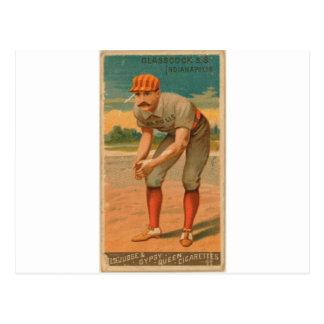 Jack Glasscock, Indianapolis Tarjetas Postales