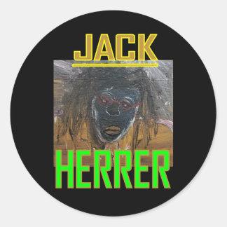 JACK HERRER ROUND STICKER