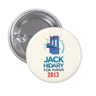 Jack Hidary for Mayor of NYC in 2013 Pinback Button