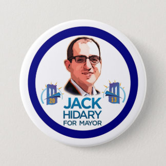 Jack Hidary for NYC Mayor 2013 Pinback Button