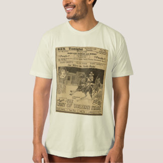 Jack Holt Billie Dove Western Stars movie ad Shirt