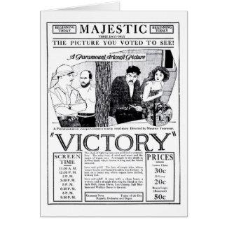 Jack Holt Seena Owen Wallace Beery ad 1920 Card