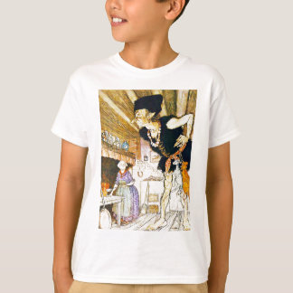 Jack In The Beanstalk T Shirt by Arthur Rackham