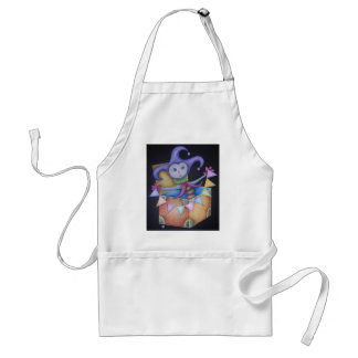 Jack in the box adult apron