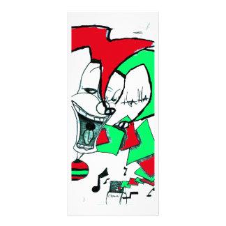 """Jack In The Box Folleto Publicitario 4"""" X 9"""""""