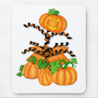 Jack in the Box Halloween Pumkin Mouse Pad