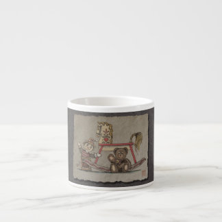 Jack in the Box, Horse & Bear Espresso Cup