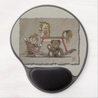 Jack in the Box, Horse & Bear Gel Mouse Pad