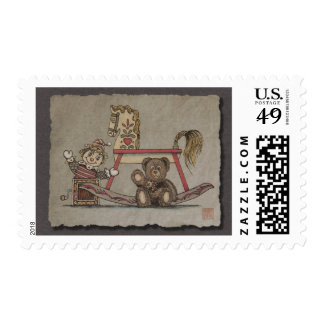 Jack in the Box, Horse & Bear Stamps