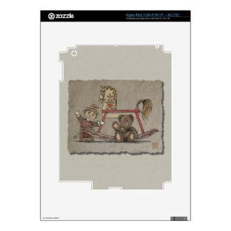 Jack in the Box, Horse & Bear iPad 3 Skins