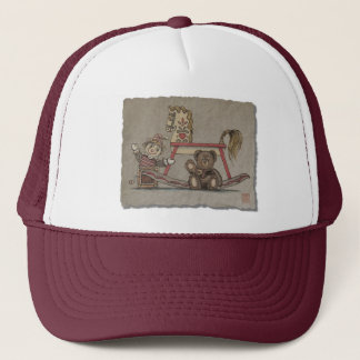 Jack in the Box, Horse & Bear Trucker Hat