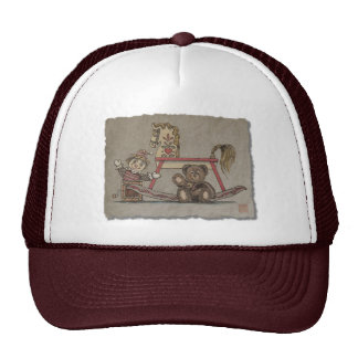 Jack in the Box, Horse & Bear Trucker Hat