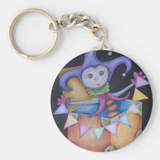 Jack in the box keychain