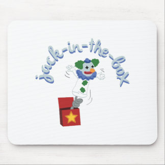 Jack-In-The-Box Mouse Pad