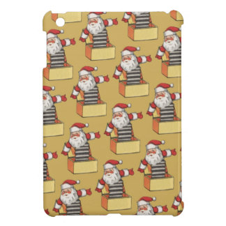 Jack-in-the-box santa case for the iPad mini
