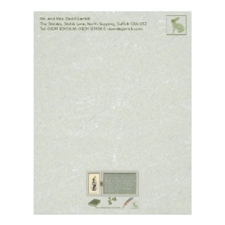 Jack-in-the-Box Stationery Letterhead
