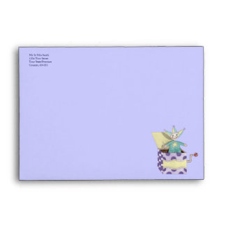 Jack-in-the-Box - Traditional Toys (pastel) Envelope