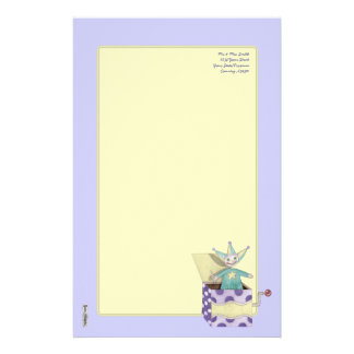 Jack-in-the-Box - Traditional Toys (pastel) Stationery